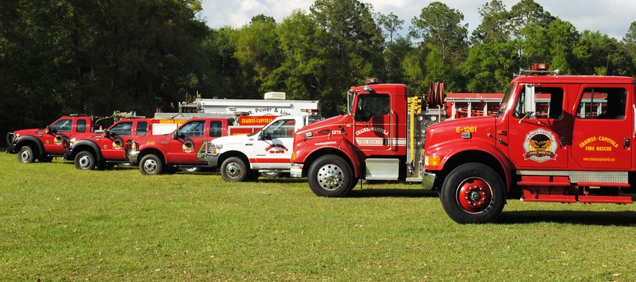 See the vehicles and buildings that make up Chaires Capitola VFD